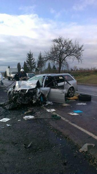 Під Івано-Франківськом іноземець на Audi лоб у лоб протаранив Chery, загинули четверо