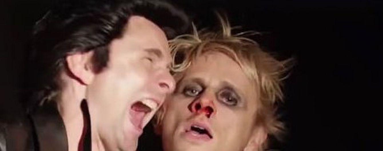 Британські рокери Muse привітали фанів із Геловіном комічно-страхітливим кліпом