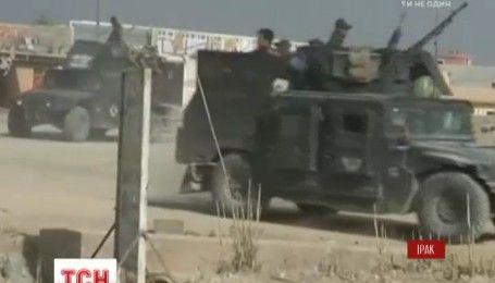 Іракські війська наближаються до захопленого бойовиками міста Мосул