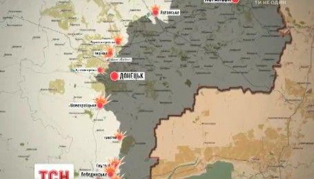 Обострение в зоне АТО: за сутки враг 36 раз открывал огонь по позициям украинских военных