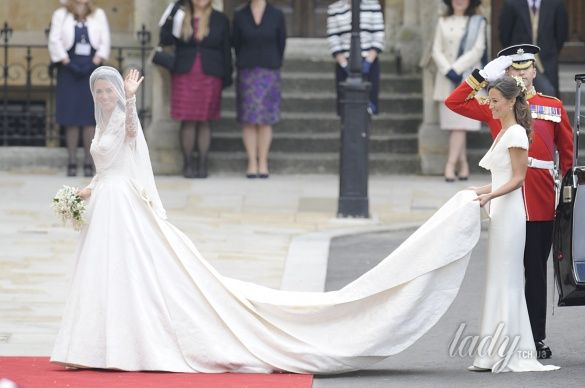 Свадьба герцогини Кембриджской