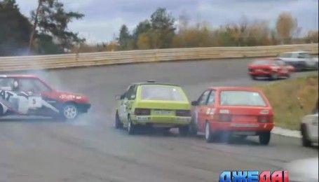 На столичном автодроме состоялся Кубок Украины по кольцевым гонкам