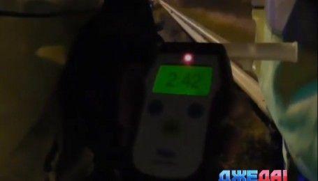 Полицейские преследовали безумного водителя на Житомирской трассе