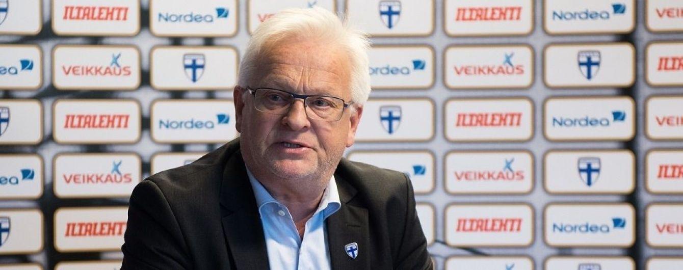 Збірна Фінляндії назвала склад на битву з Україною у відборі ЧС-2018