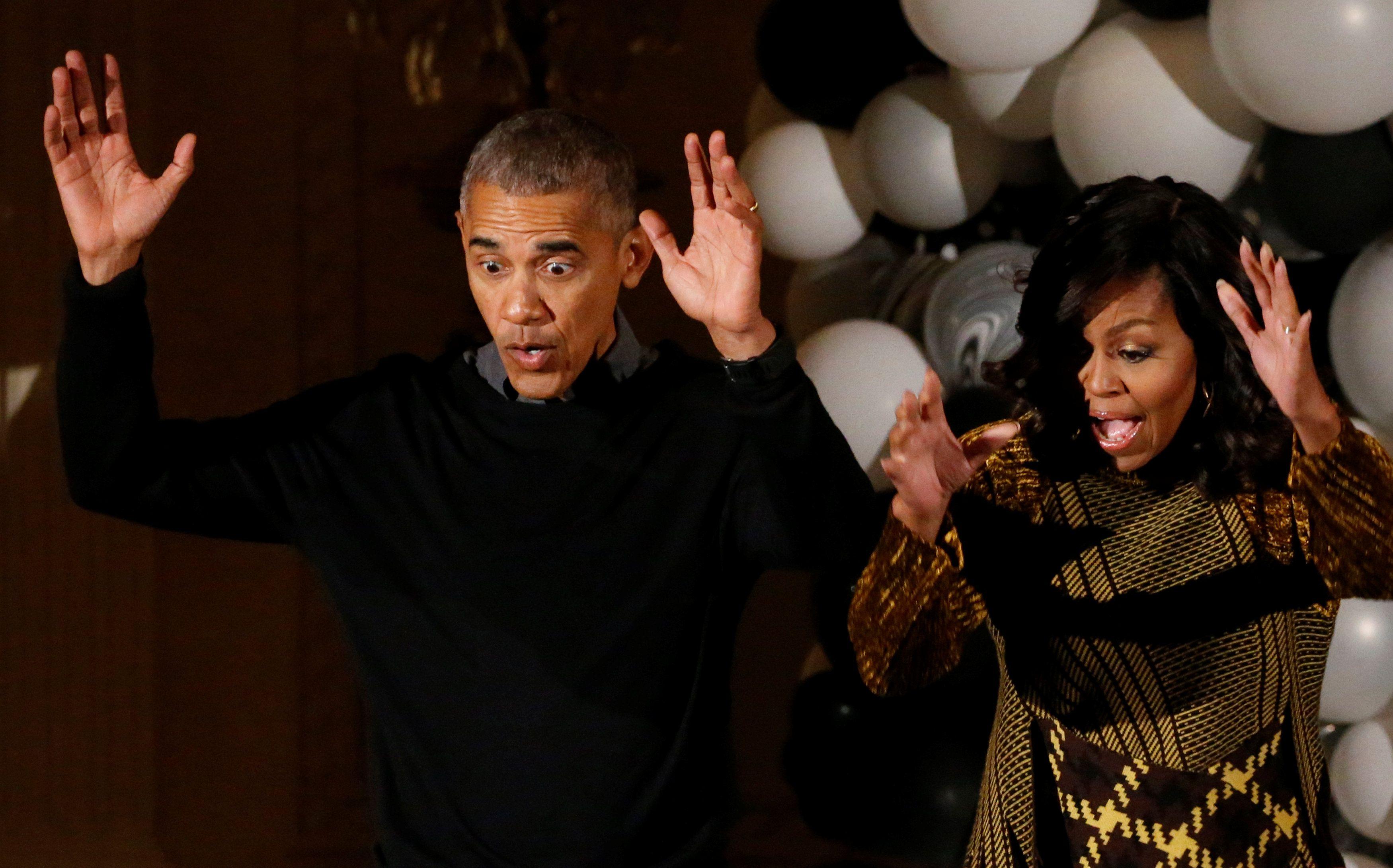 Барак та Мышель Обама