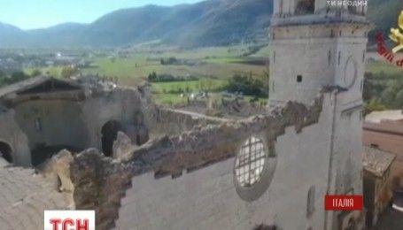 В центре Италии произошла новая серия подземных толчков