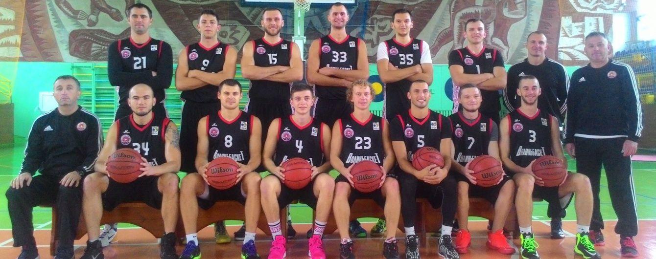 Баскетбольний клуб з Волині опинився на межі зникнення