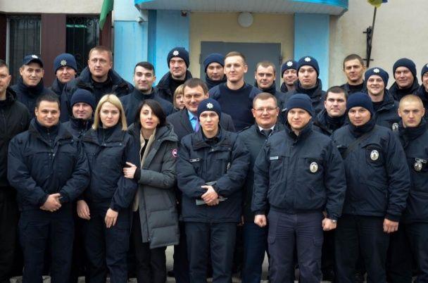 Деканоідзе представила нового очільника патрульної поліції Харкова