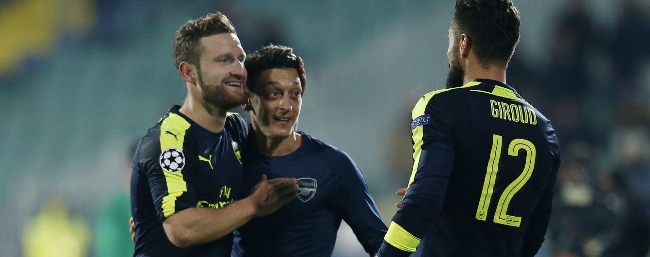 """Фантастична стабільність. """"Арсенал"""" вийшов до плей-оф Ліги чемпіонів вчотирнадцяте поспіль"""