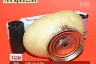 Австралієць змайстрував фотоапарат з картоплини та консервної бляшанки