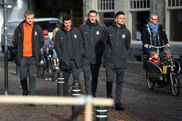 """""""Шахтар"""" нагуляв бойовий настрій у Бельгії перед Лігою Європи"""
