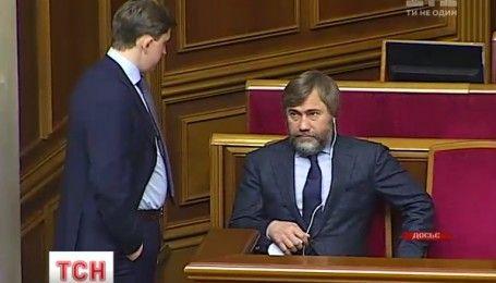 Вадим Новинский заявил, что бежать из Украины не собирается