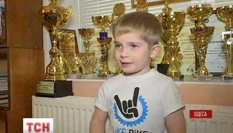 Известный маленький автогонщик из Одессы отпраздновал 6-й день рождения