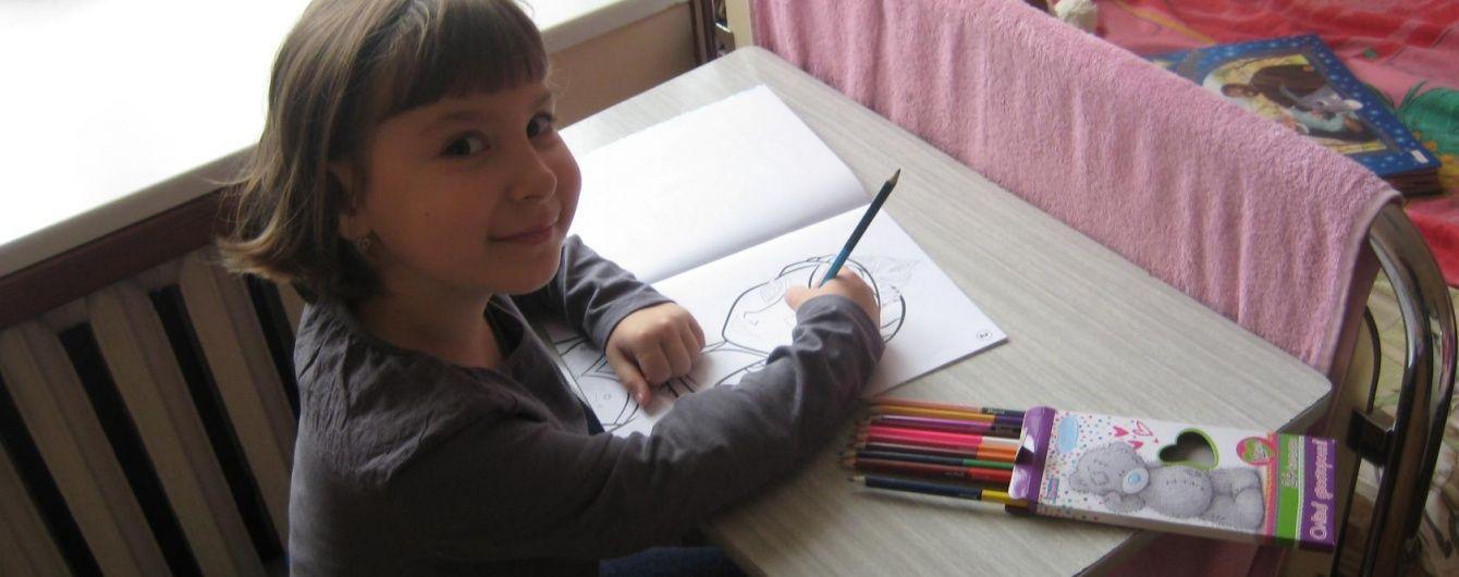 7-летняя Полинка нуждается в немедленной помощи