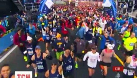 Россия снова оказалась в центре допингового скандала, который связан с Нью-Йоркским марафоном