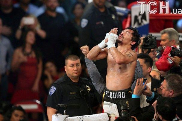 Тріумфальне повернення легенди: Пакьяо виборов титул чемпіона світу з боксу