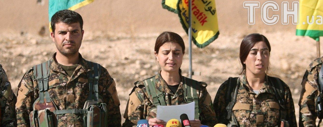 """Курди за підтримки США розпочинають масштабний наступ на столицю """"ІД"""" у Сирії — Ракку"""
