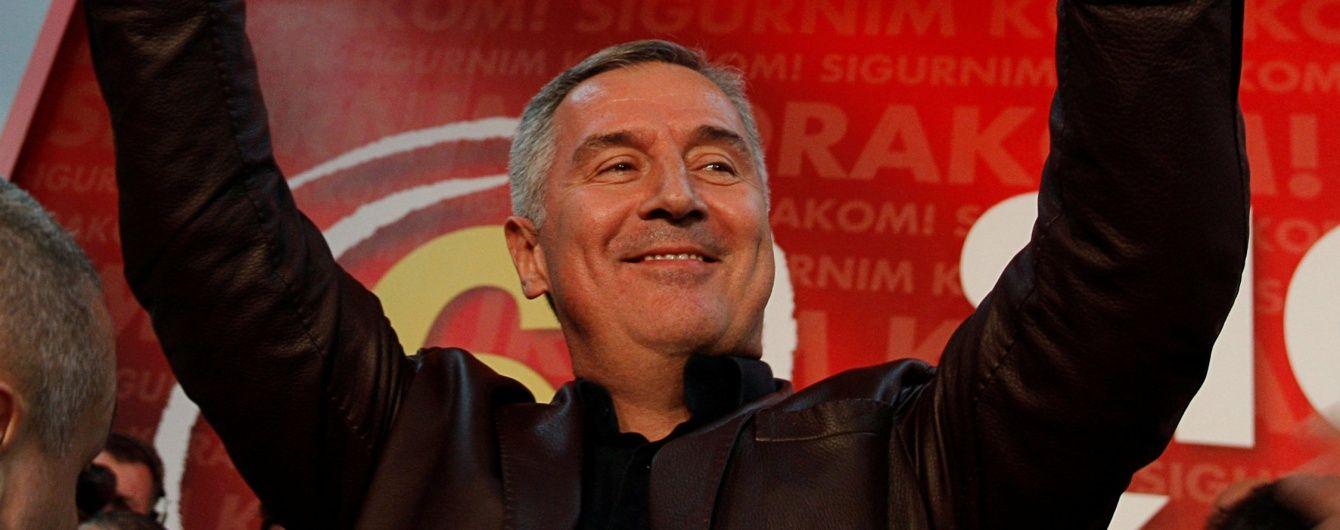 Чорногорія назвала імена росіян, які готували вбивство прем'єра Джукановича