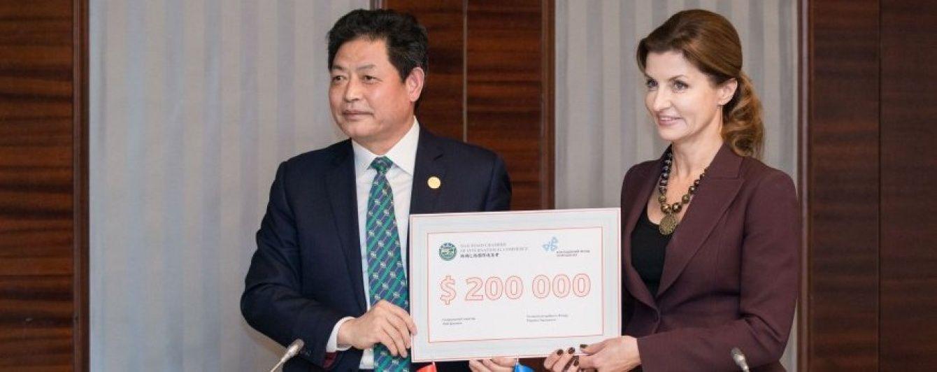 Китай надасть 5 млн грн на навчання дітей з інвалідністю в Україні