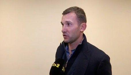 Андрій Шевченко розповів, як обирав склад збірної на матчі проти Фінляндії й Сербії