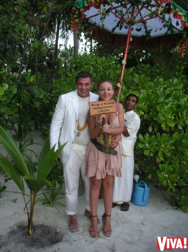 У Мережі з'явилися унікальні світлини з весілля Тіни Кароль на Мальдівах