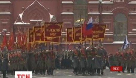 Тысячи солдат и военная техника: на Красной площади, отметили годовщину марша 1941