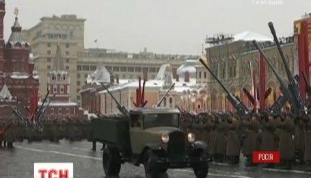 Парад в честь парада: с размахом в Москве отпраздновали 75-летие марша 1941 года