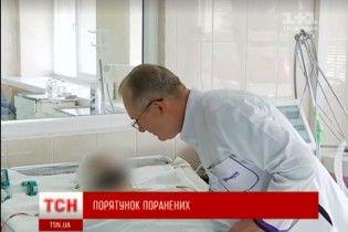 Осколки навиліт пробили голову та розірвали ногу: у Дніпрі врятували українського бійця з Мар'їнки