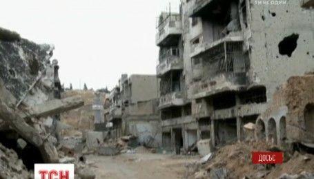 В Дамаску російська авіація й війська Асада застосували бомби проти мирних жителів