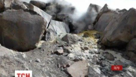 На юге Перу проснулся вулкан Сабанкая
