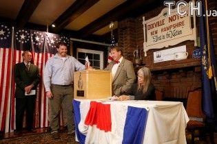У США оприлюднили перші результати голосування на президенських виборах
