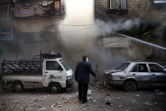 Війська Асада завдали удару по житлових будинках Дамаска, є загиблі.