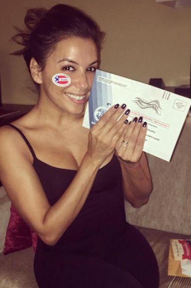 Зірки голосують за президента США_6