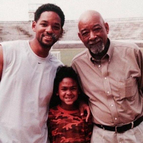 Вілл Сміт з батьком і старшим сином