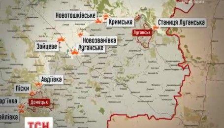 Боевики усиливают активность на украинском Донбассе