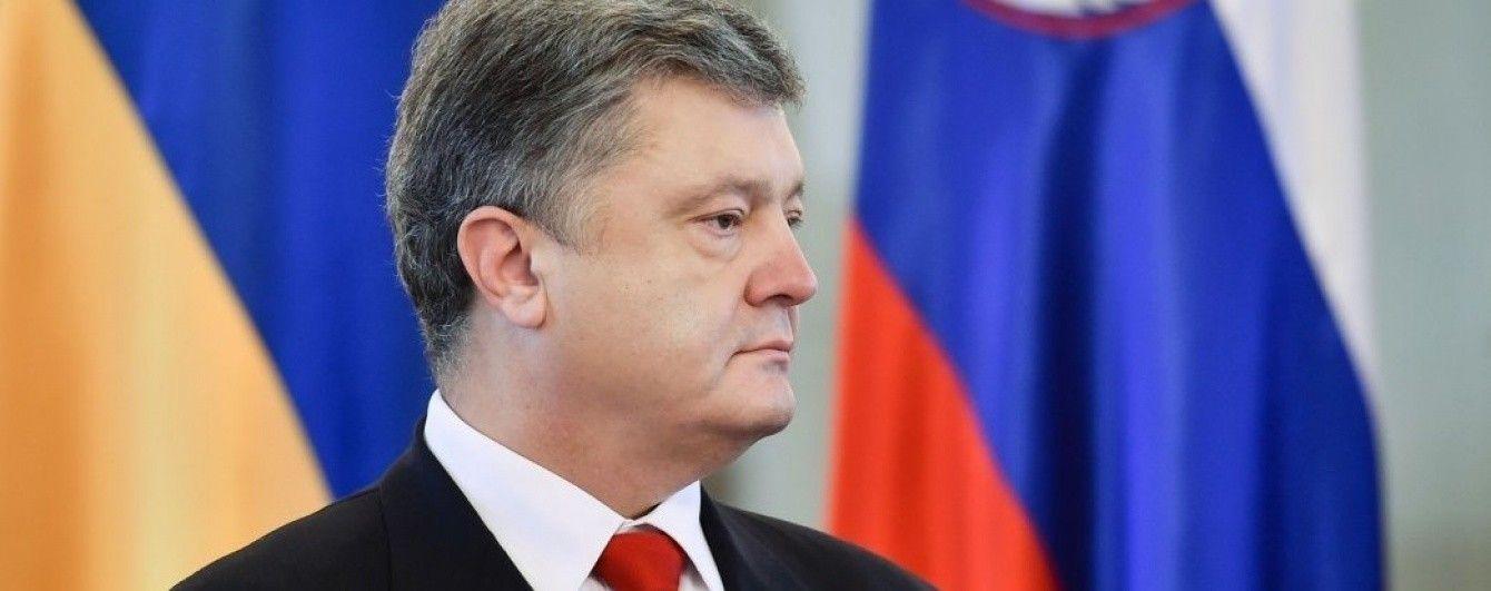 Санкції проти РФ не є самоціллю - Порошенко