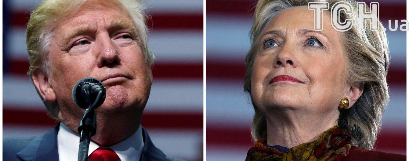 Як розділилися голоси американців на президентських виборах. Інфографіка