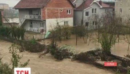 Сербия страдает от паводков