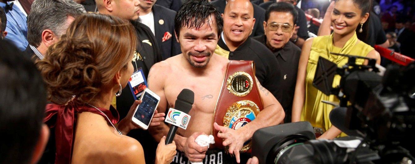 Промоутер Пакьяо обнадіяв любителів боксу реваншем із Мейвезером