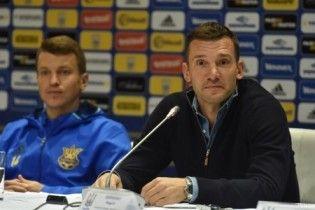 Шевченко: збірна України має кістяк, з яким я хочу закінчити цей рік