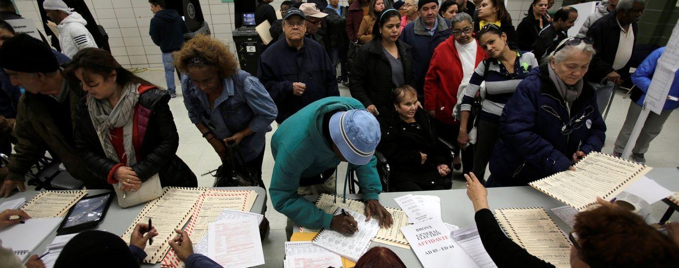 У США зламалися машини для голосування