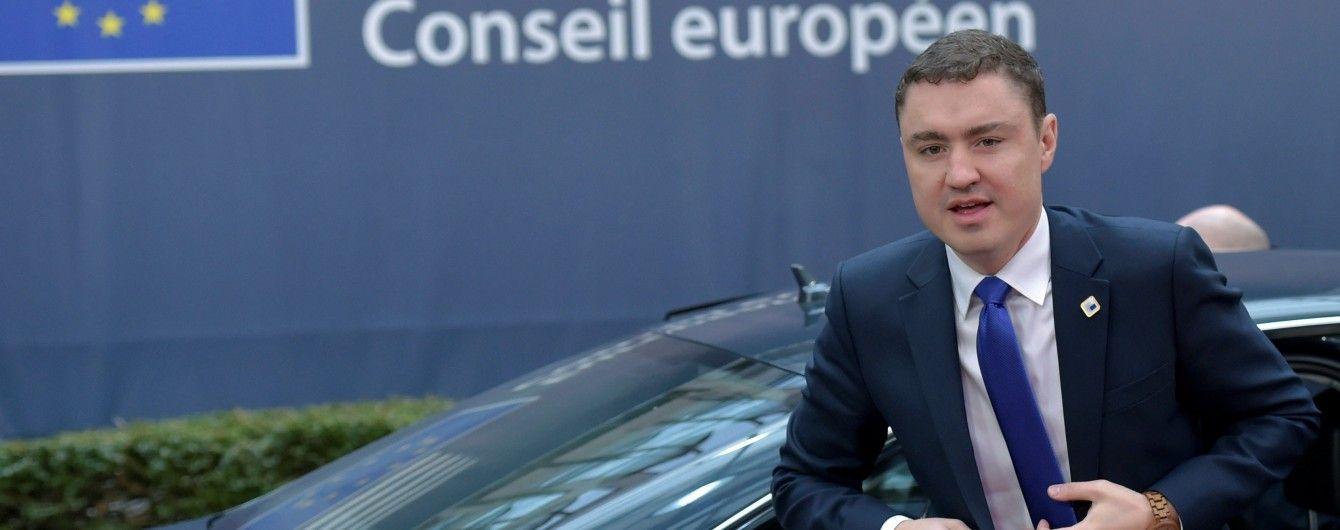 Парламент Естонії проголосував проти прем'єр-міністра та оголосив йому недовіру