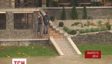 На Закарпатье зафиксировали пик наводнения в нижних течениях Тисы и Латорицы