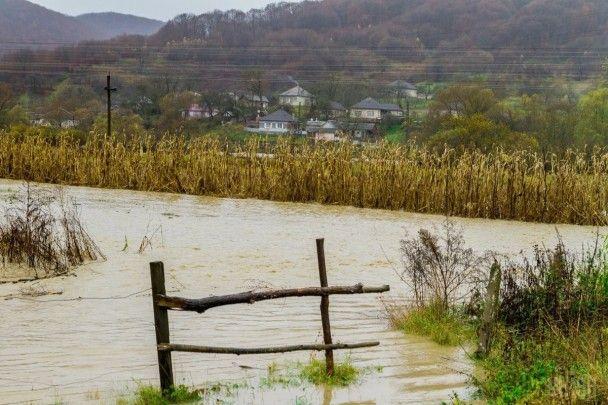 Закарпаття пішло під воду. Рівень води в двох річках піднявся на 6-8 метрів