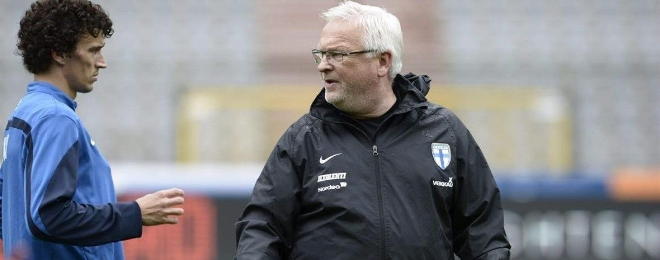 Тренер збірної Фінляндії назвав Україну технічною командою зі слабким захистом