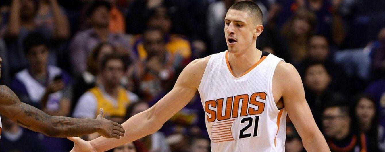 Українець Лень зробив потужний дабл-дабл в матчі НБА