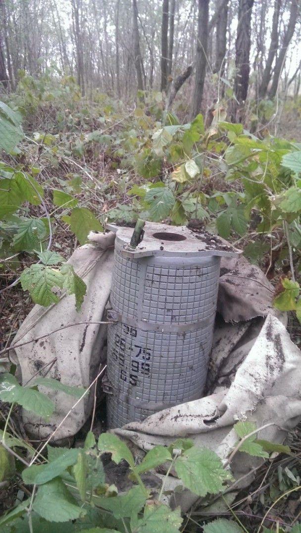 На Луганщині викрили вибухову пастку для військових АТО