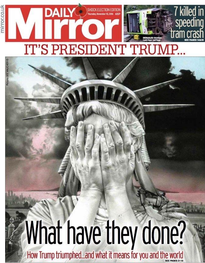 Обкладинки журналів про перемогу Трампа _4