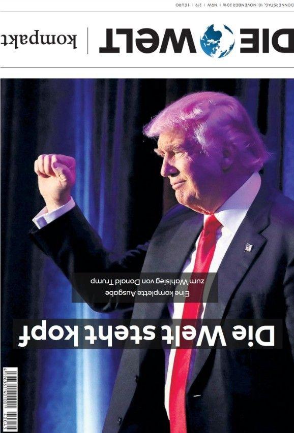 Обкладинки журналів про перемогу Трампа _1