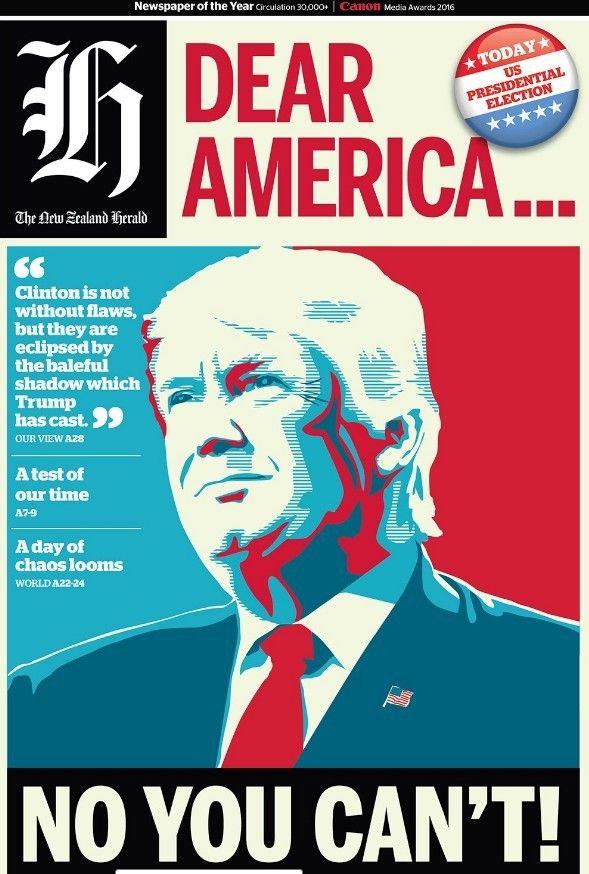 Обкладинки журналів про перемогу Трампа _2